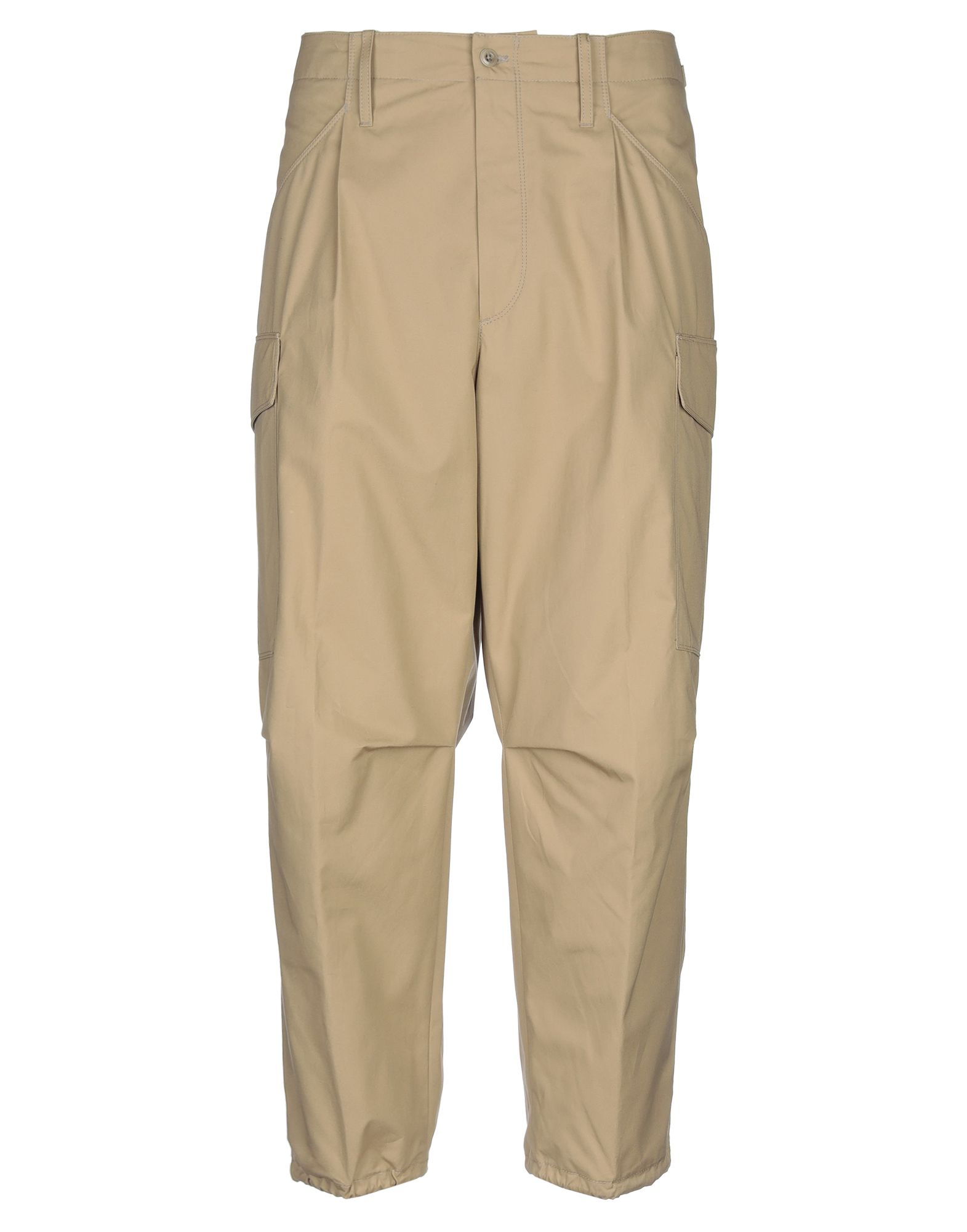 《セール開催中》CELLAR DOOR メンズ パンツ サンド 50 コットン 100%