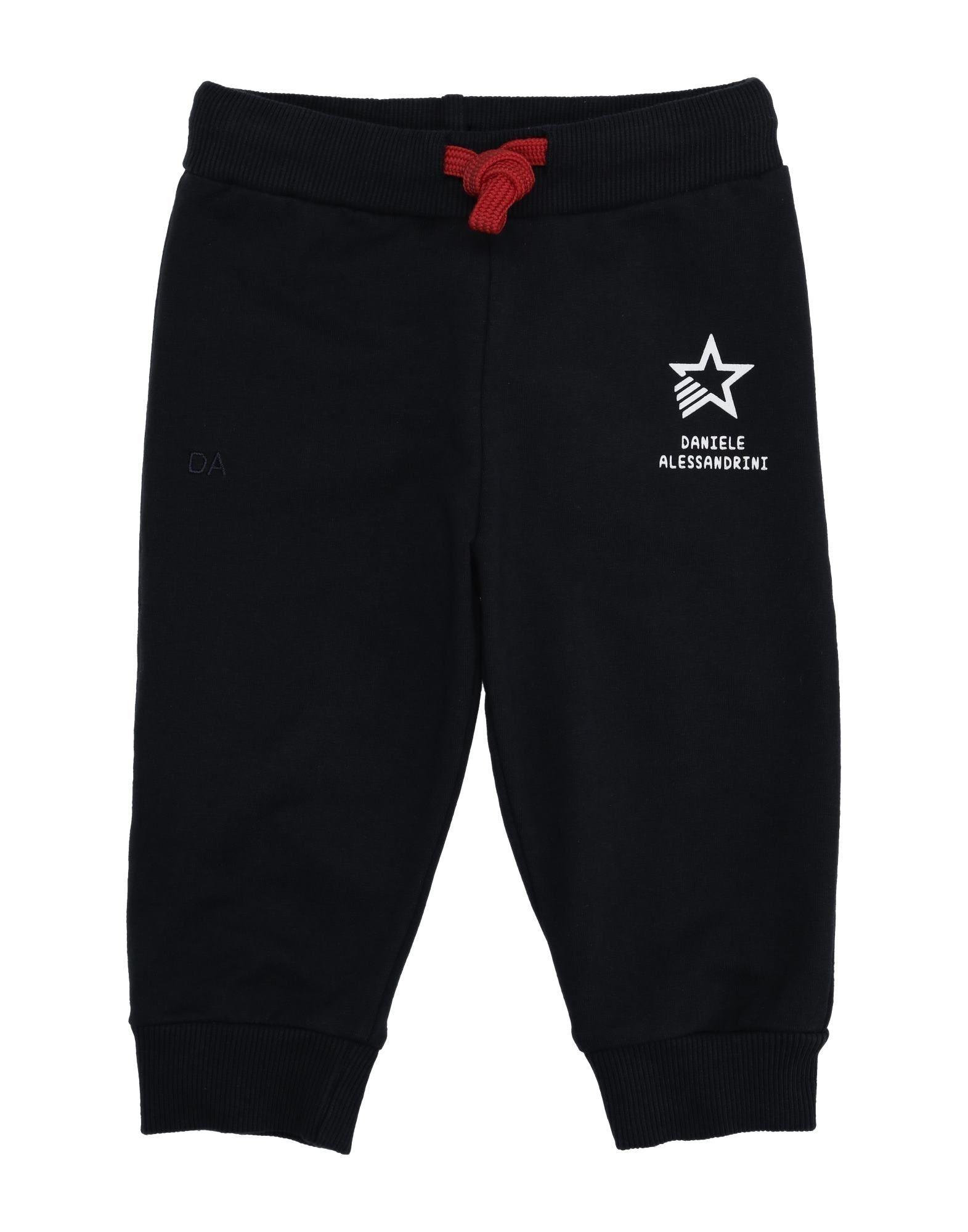 Daniele Alessandrini Kids' Casual Pants In Black