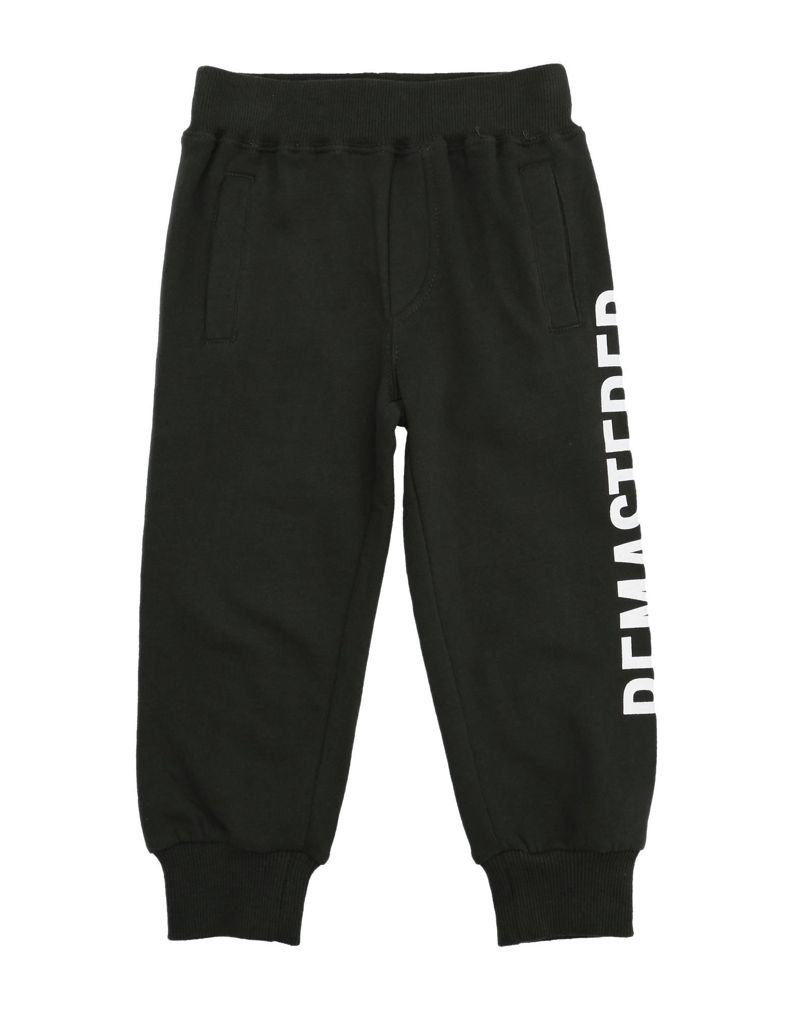 Fred Mello Kids' Casual Pants In Black