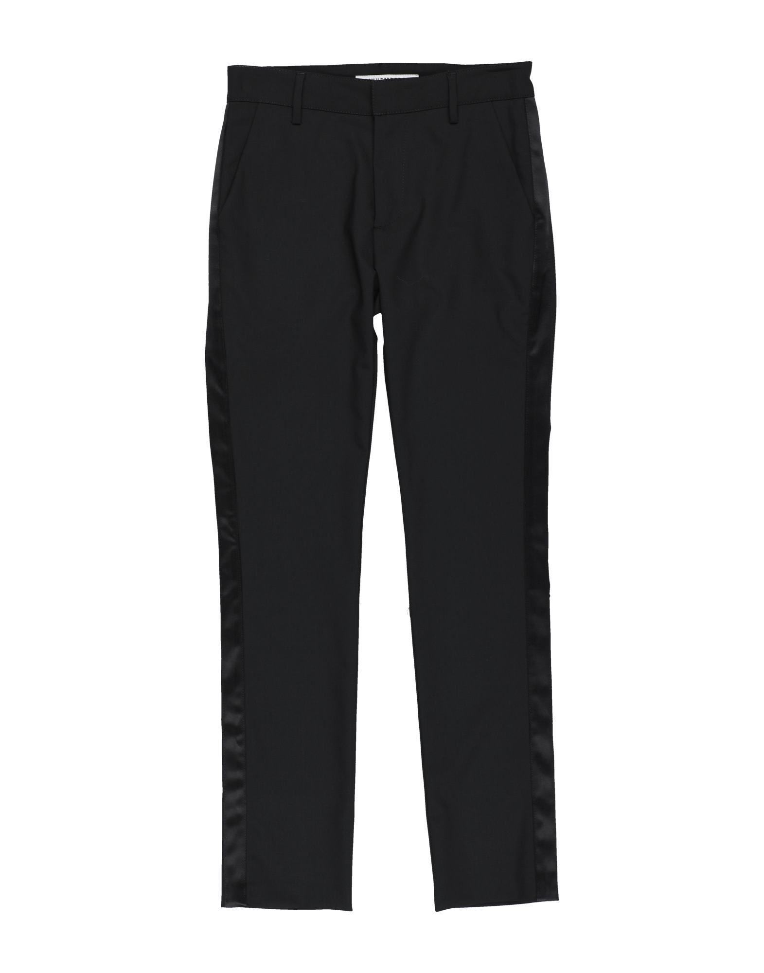 Bikkembergs Kids' Casual Pants In Black