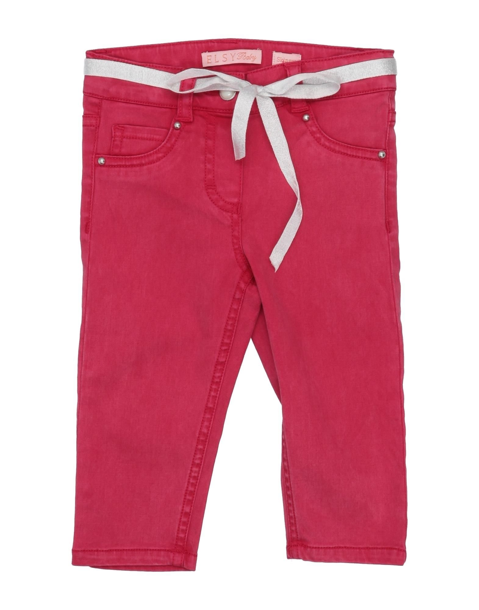 Elsy Kids' Casual Pants In Fuchsia