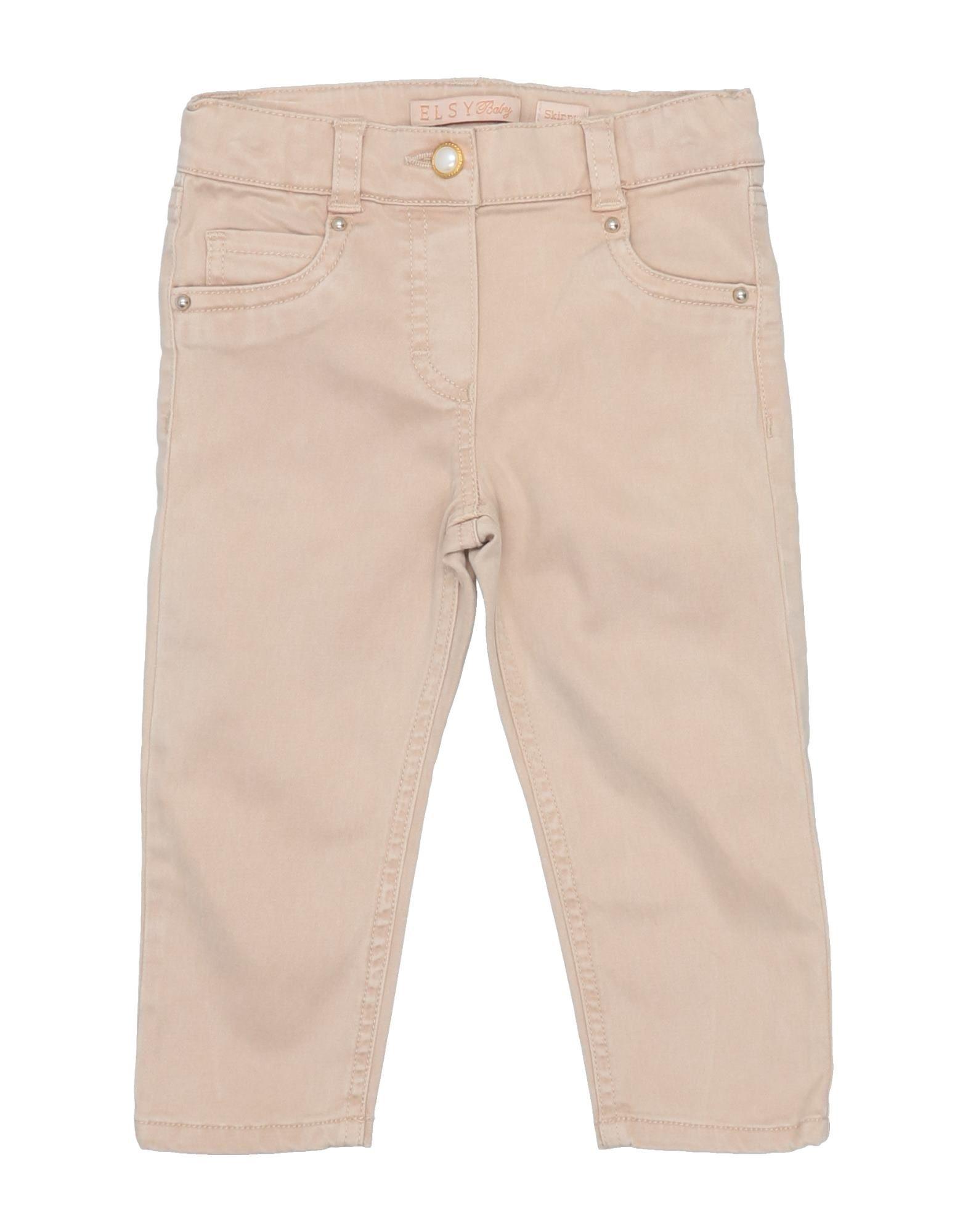 Elsy Kids' Casual Pants In Beige