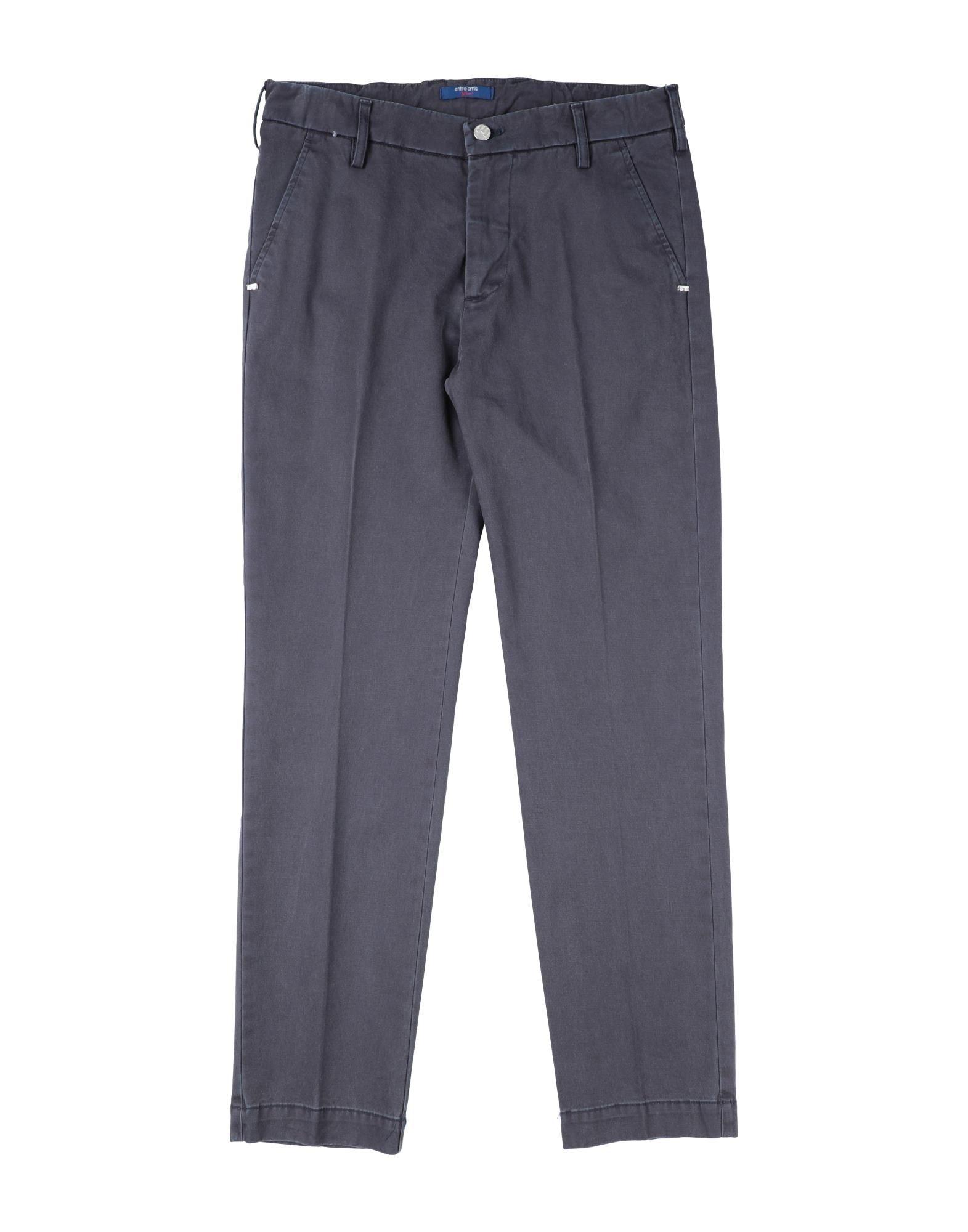 Entre Amis Garçon Kids' Casual Pants In Dark Blue