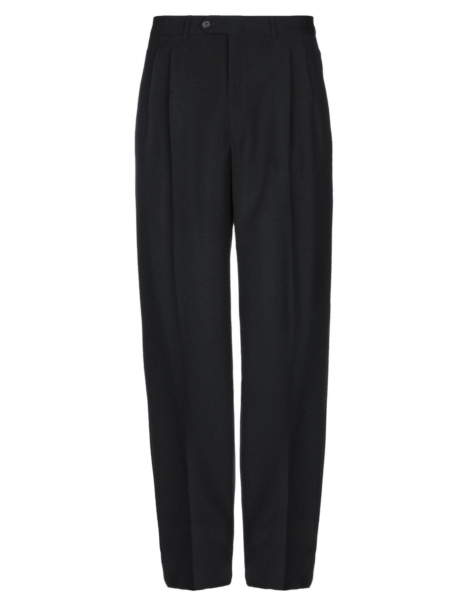 《セール開催中》BERRY メンズ パンツ ブラック 54 ウール 60% / モヘヤ 40%