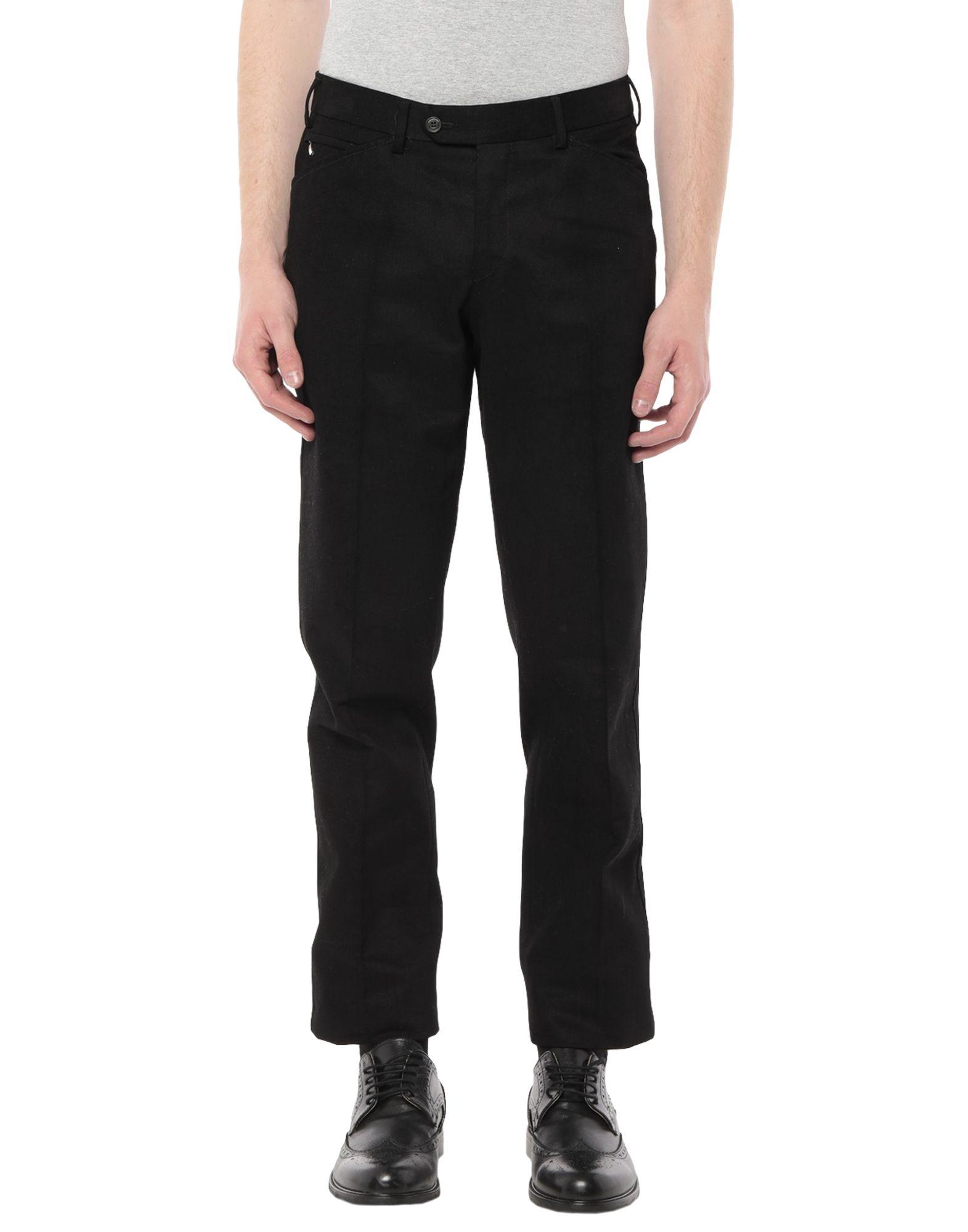 《セール開催中》PAL ZILERI CONCEPT メンズ パンツ ブラック 46 コットン 100%