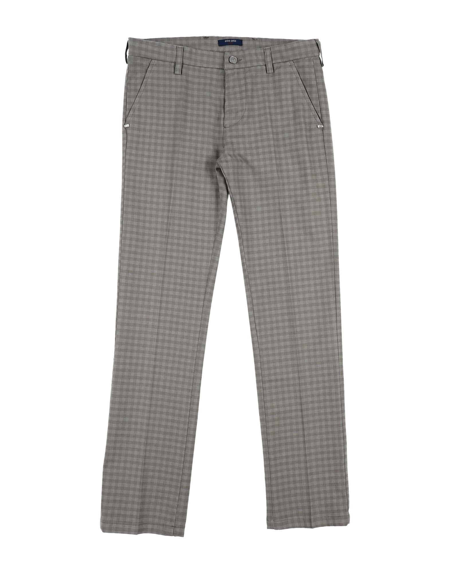 Entre Amis Garçon Kids' Casual Pants In Gray