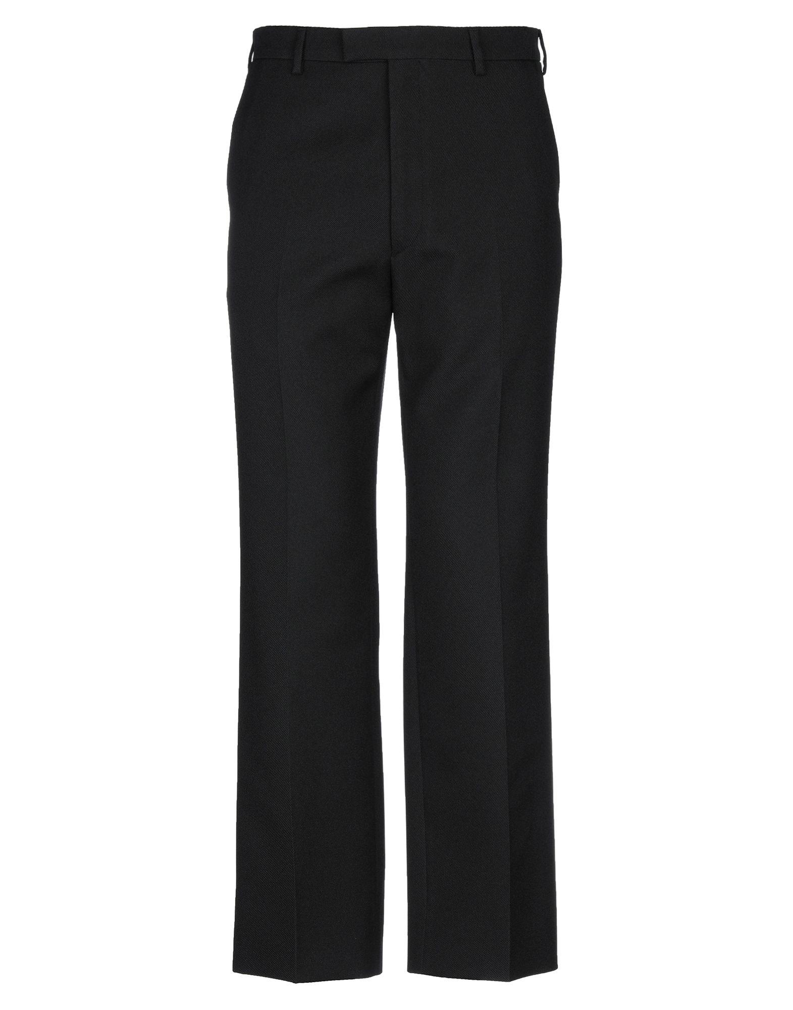 《セール開催中》PRADA メンズ パンツ ブラック 46 ポリエステル 100%