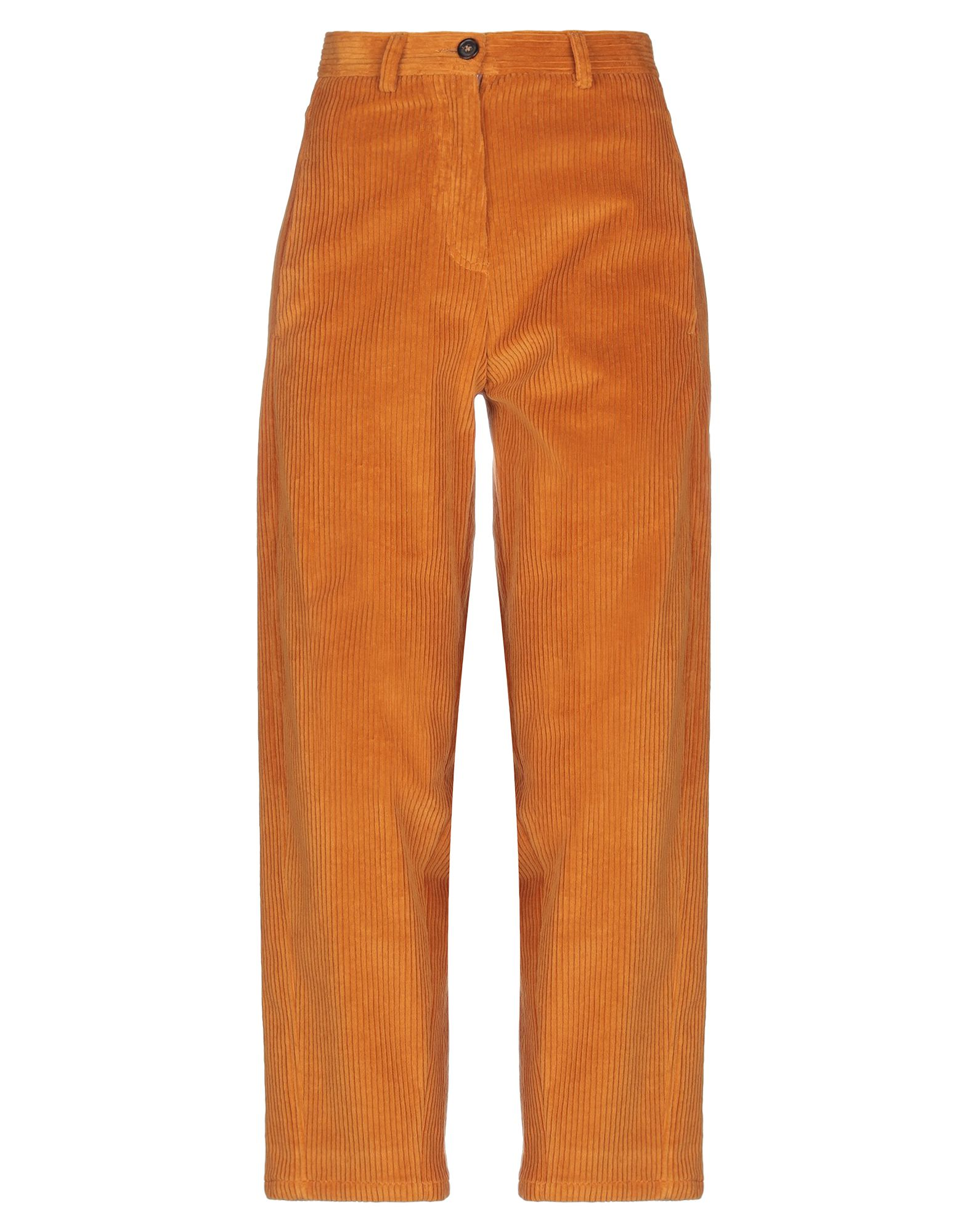 《セール開催中》GOLD CASE レディース パンツ オレンジ 38 コットン 96% / ポリウレタン 4%