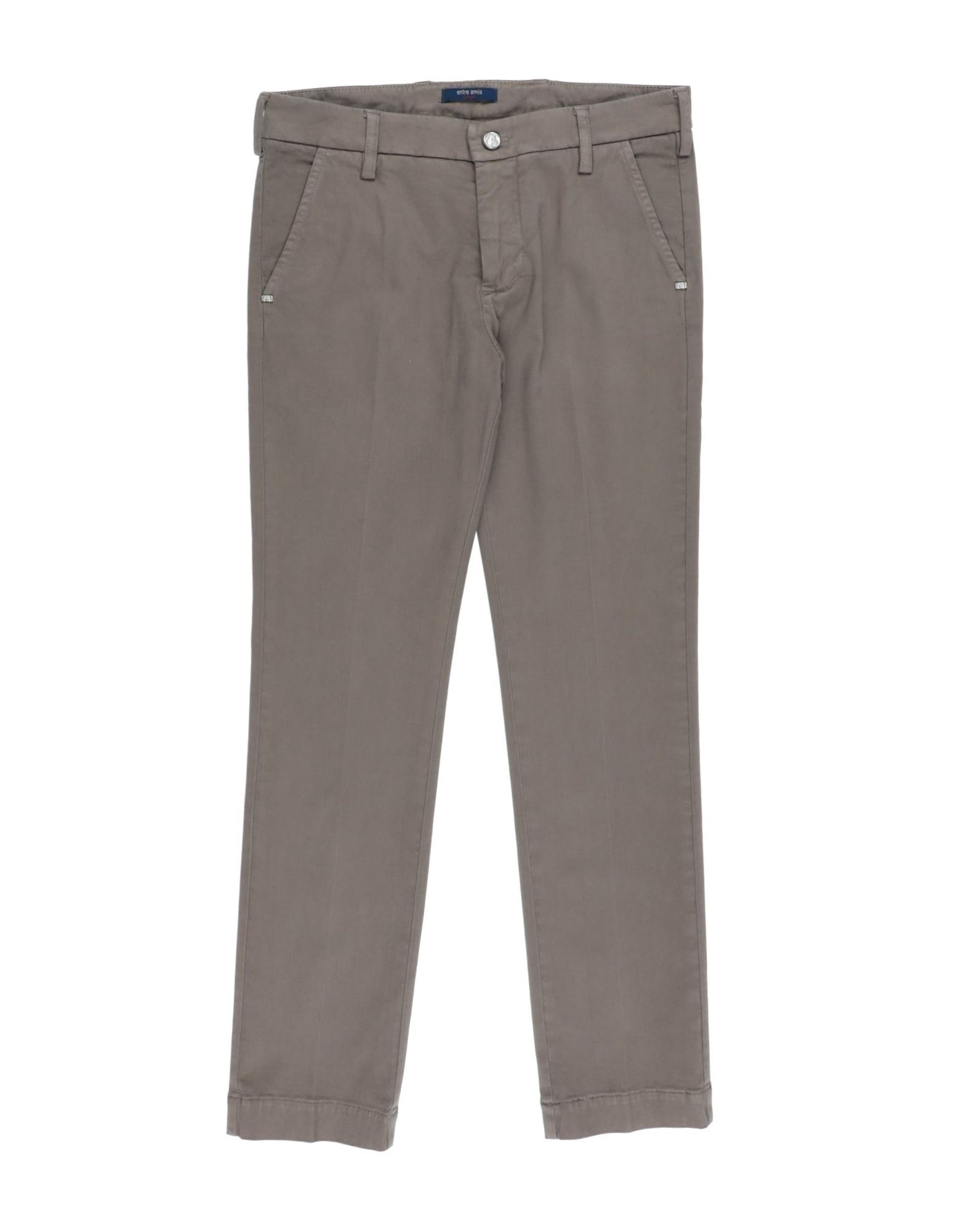 Entre Amis Kids' Casual Pants In Gray
