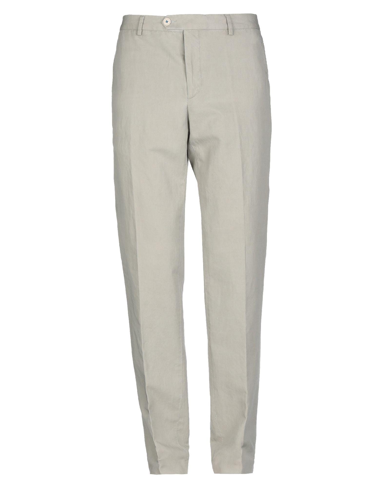 《セール開催中》BERRY & BRIAN メンズ パンツ ライトグレー 32 コットン 78% / リネン 22%