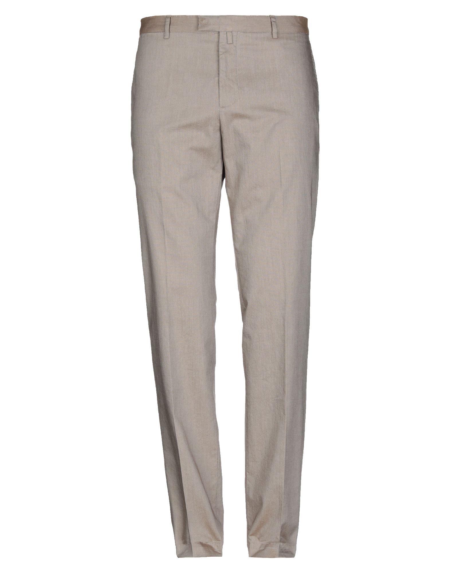《セール開催中》BERRY & BRIAN メンズ パンツ カーキ 54 コットン 100%