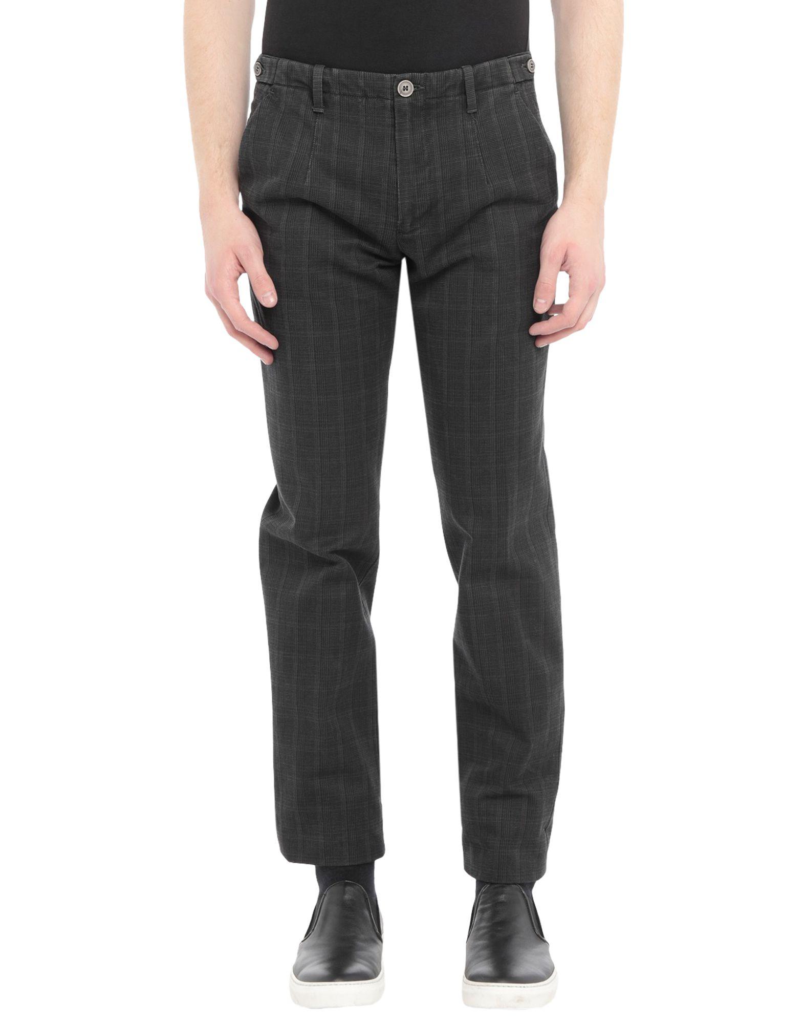 《セール開催中》BERRY & BRIAN メンズ パンツ ブラック 46 コットン 100%