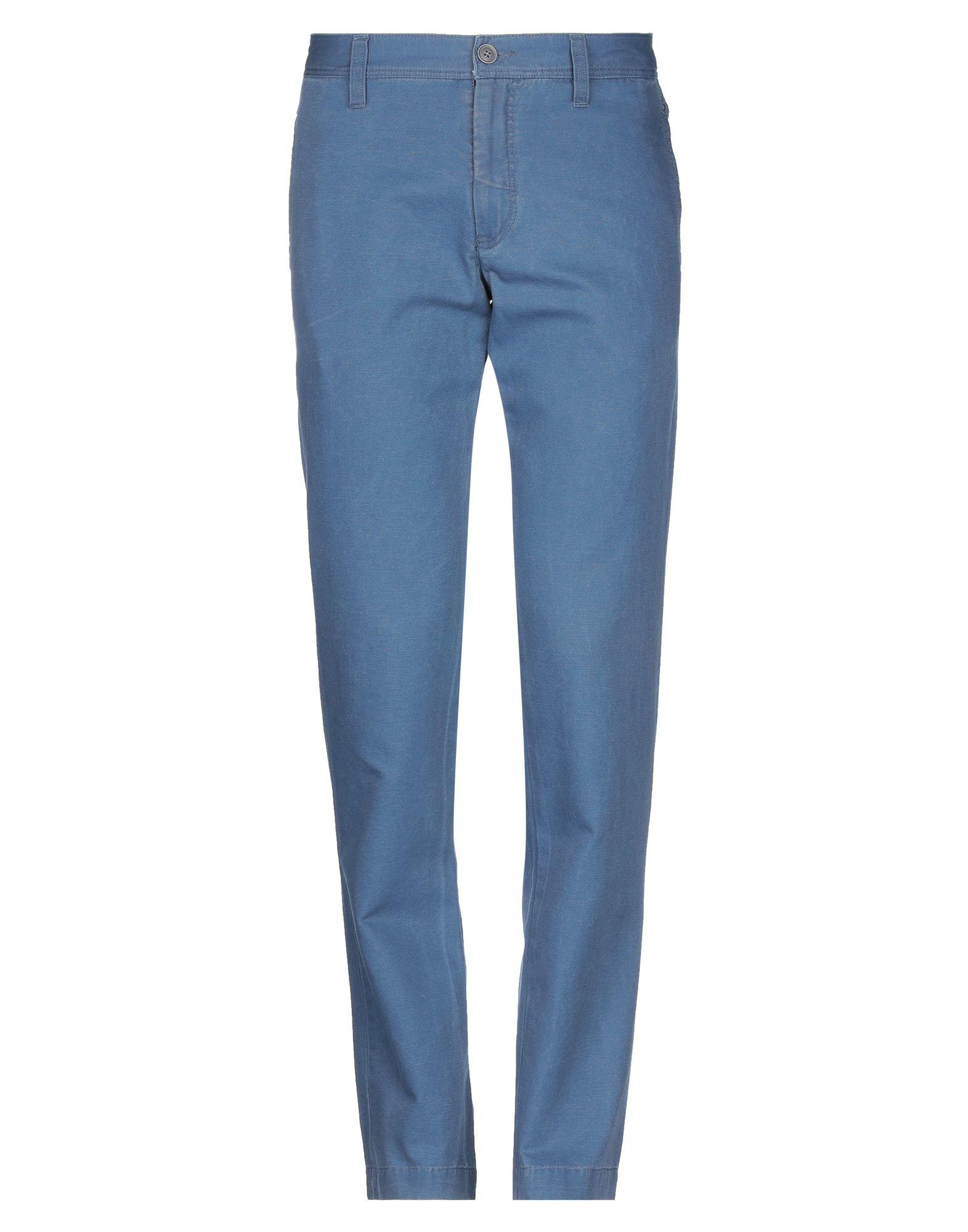 《セール開催中》BERRY & BRIAN メンズ パンツ パステルブルー 48 コットン 100%