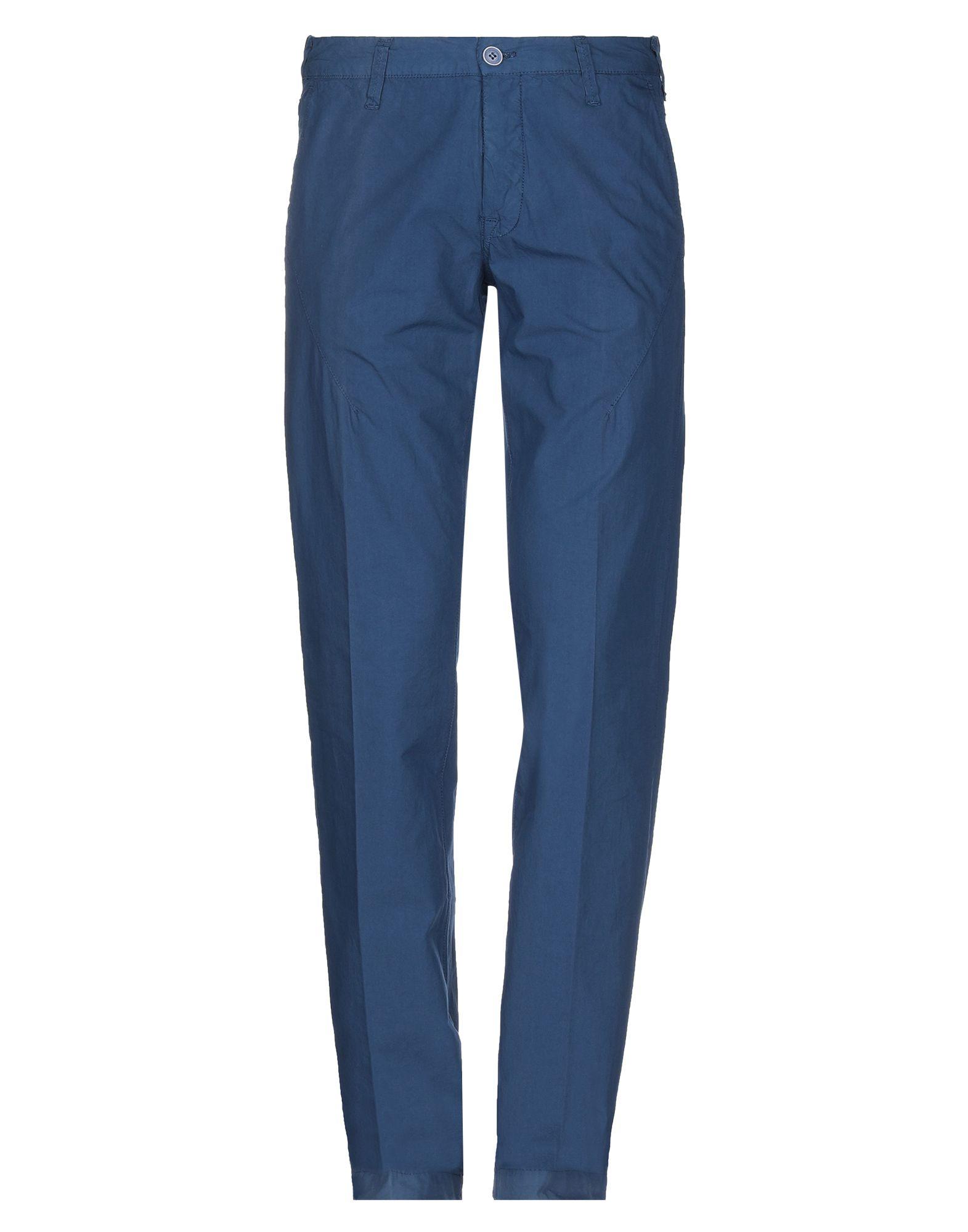 《セール開催中》BERRY & BRIAN メンズ パンツ ダークブルー 54 コットン 100%