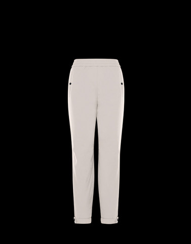 ATHLETIC TROUSERS Ivory Category ATHLETIC TROUSERS Woman