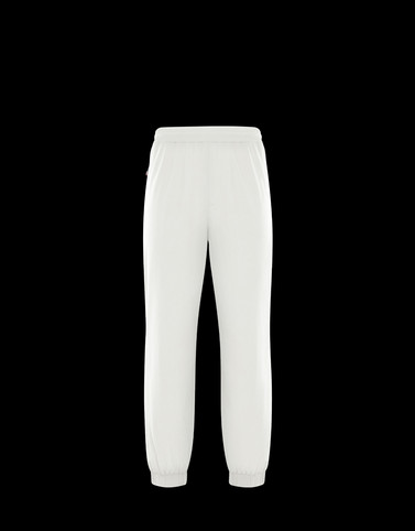 ATHLETIC TROUSERS Ivory Trousers Man