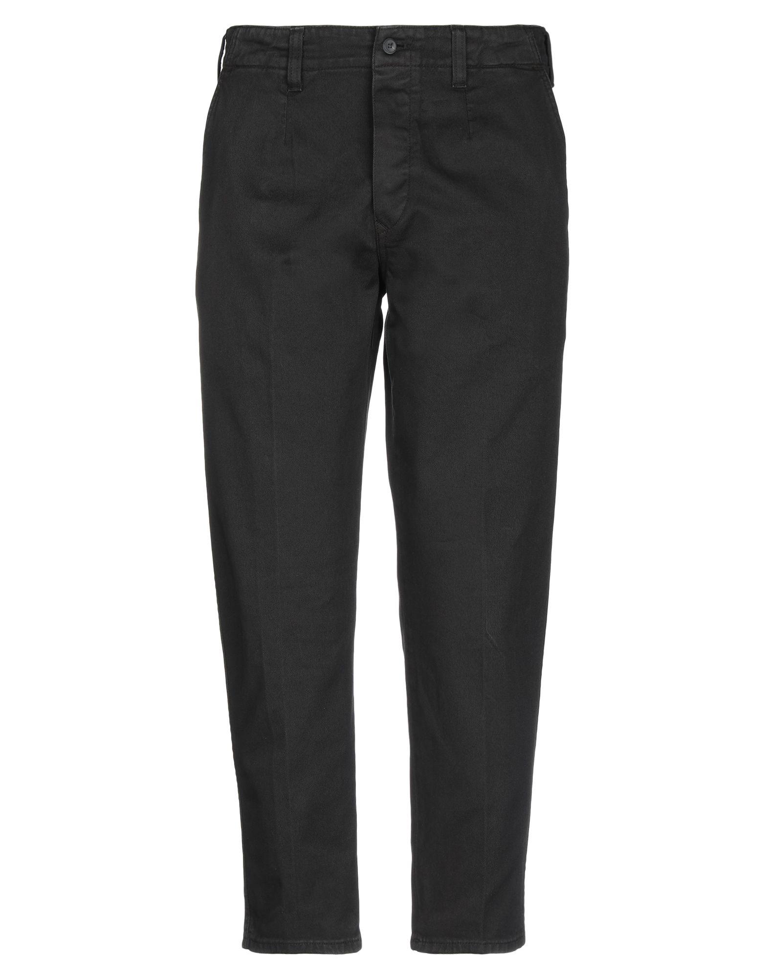 《セール開催中》DON THE FULLER メンズ パンツ ブラック 33 コットン 98% / ポリウレタン 2%