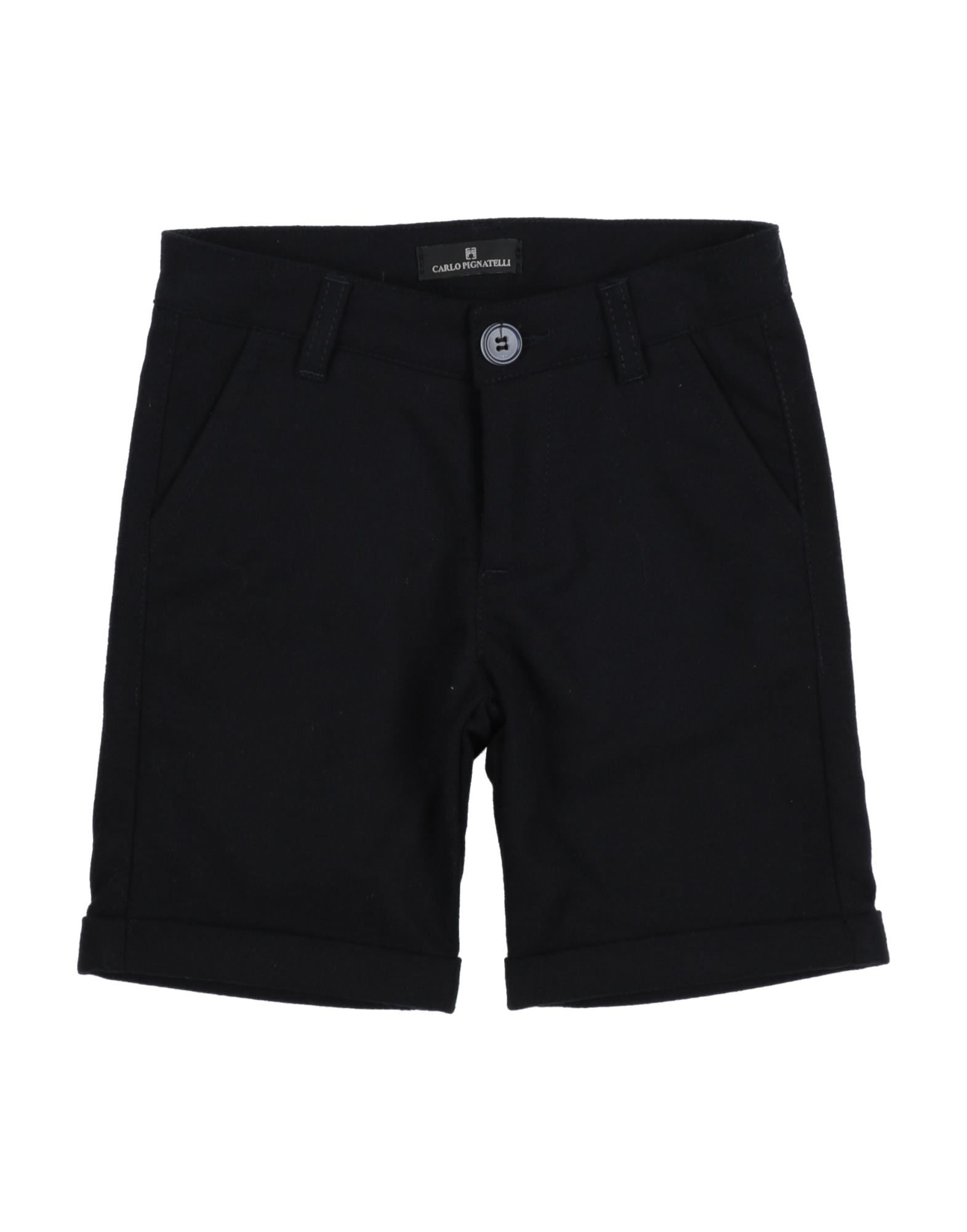 Carlo Pignatelli Kids' Casual Pants In Black
