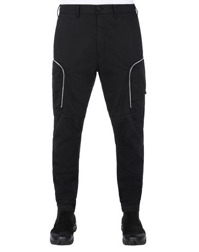 STONE ISLAND SHADOW PROJECT 30508 CARGO PANTS  TROUSERS Man Black USD 484