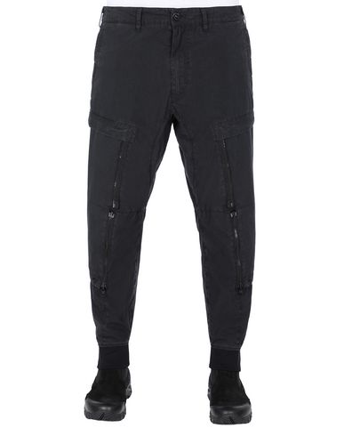STONE ISLAND SHADOW PROJECT 301B1 CONVERT CARGO PANTS  TROUSERS Man Black USD 875