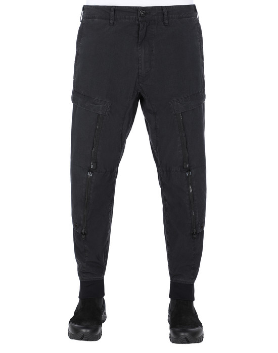 STONE ISLAND SHADOW PROJECT 301B1 CONVERT CARGO PANTS  TROUSERS Man Black