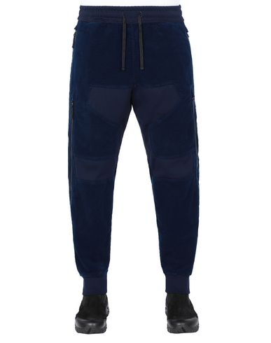 STONE ISLAND SHADOW PROJECT 304I2 VENTILATION JOGGERS TROUSERS Man Dark blue EUR 535