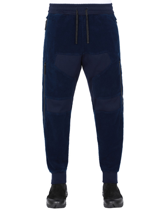 STONE ISLAND SHADOW PROJECT 304I2 VENTILATION JOGGERS TROUSERS Man Dark blue