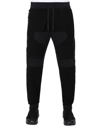 STONE ISLAND SHADOW PROJECT 304B2 VENTILATION JOGGERS TROUSERS Man Black USD 506