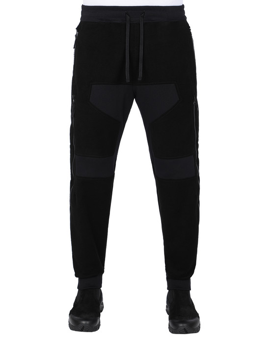 STONE ISLAND SHADOW PROJECT 304B2 VENTILATION JOGGERS TROUSERS Man Black