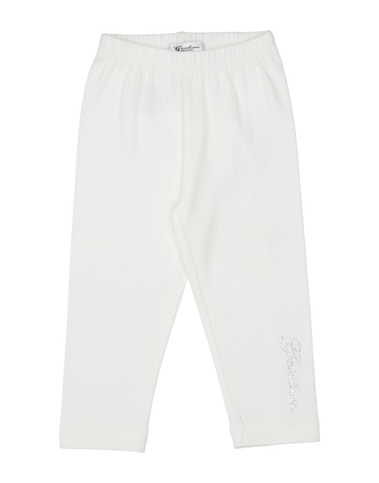 Gaialuna Kids' Leggings In White