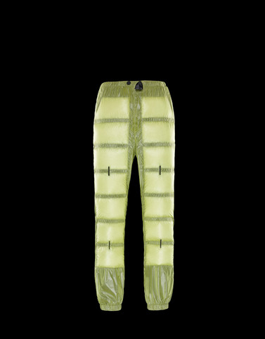 CASUAL TROUSER Yellow 5 Moncler Craig Green Man