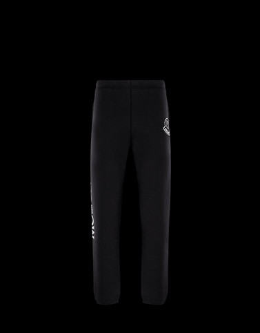 CASUAL TROUSER Black 2 Moncler 1952 Man