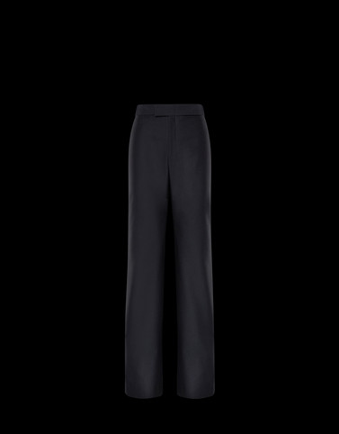 CASUAL TROUSER Black 2 Moncler 1952 Woman