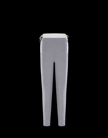 CASUAL TROUSER Grey Trousers Woman