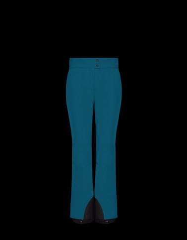 SKI TROUSERS Blue Category Ski trousers Woman