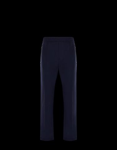 CASUAL TROUSER Black Grenoble Trousers Man