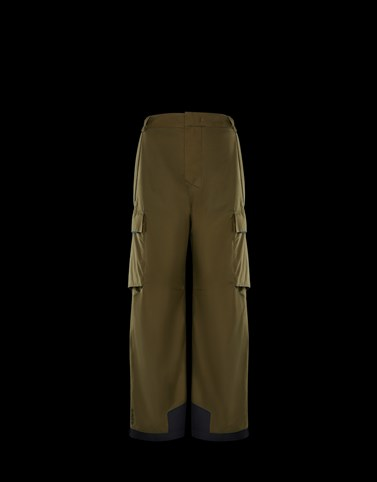 SKI TROUSERS Military green Category Ski trousers Man