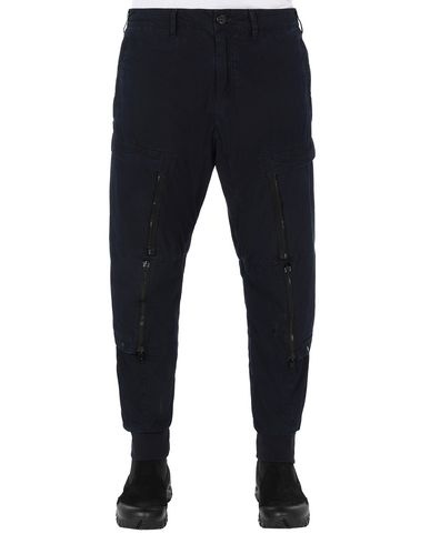 STONE ISLAND SHADOW PROJECT 301I1 CONVERT CARGO PANTS TROUSERS Man Indigo USD 684