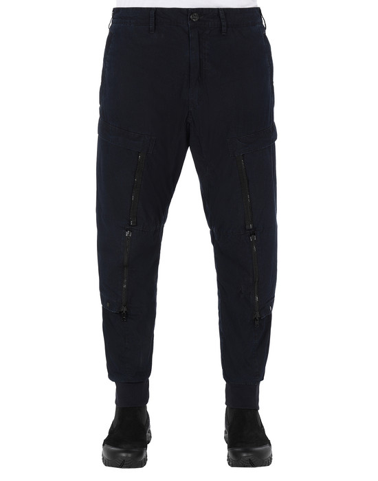 STONE ISLAND SHADOW PROJECT 301I1 CONVERT CARGO PANTS TROUSERS Man Indigo