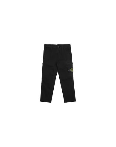 STONE ISLAND BABY 30814 Trousers Man Black EUR 158