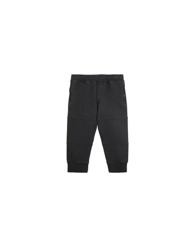 STONE ISLAND BABY 61142 Fleece Trousers Man Black EUR 143