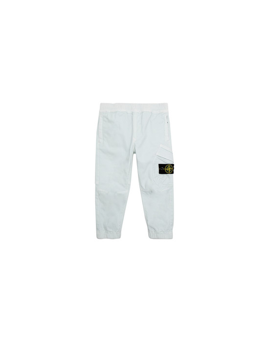 STONE ISLAND JUNIOR 30714 Pants Man Aqua
