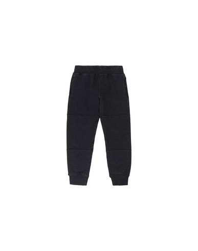 STONE ISLAND KIDS 61142 Fleece Pants Man Black USD 149