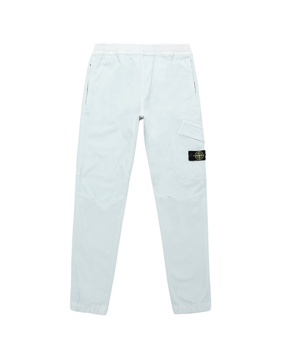 STONE ISLAND JUNIOR 30714 Trousers Man Aqua