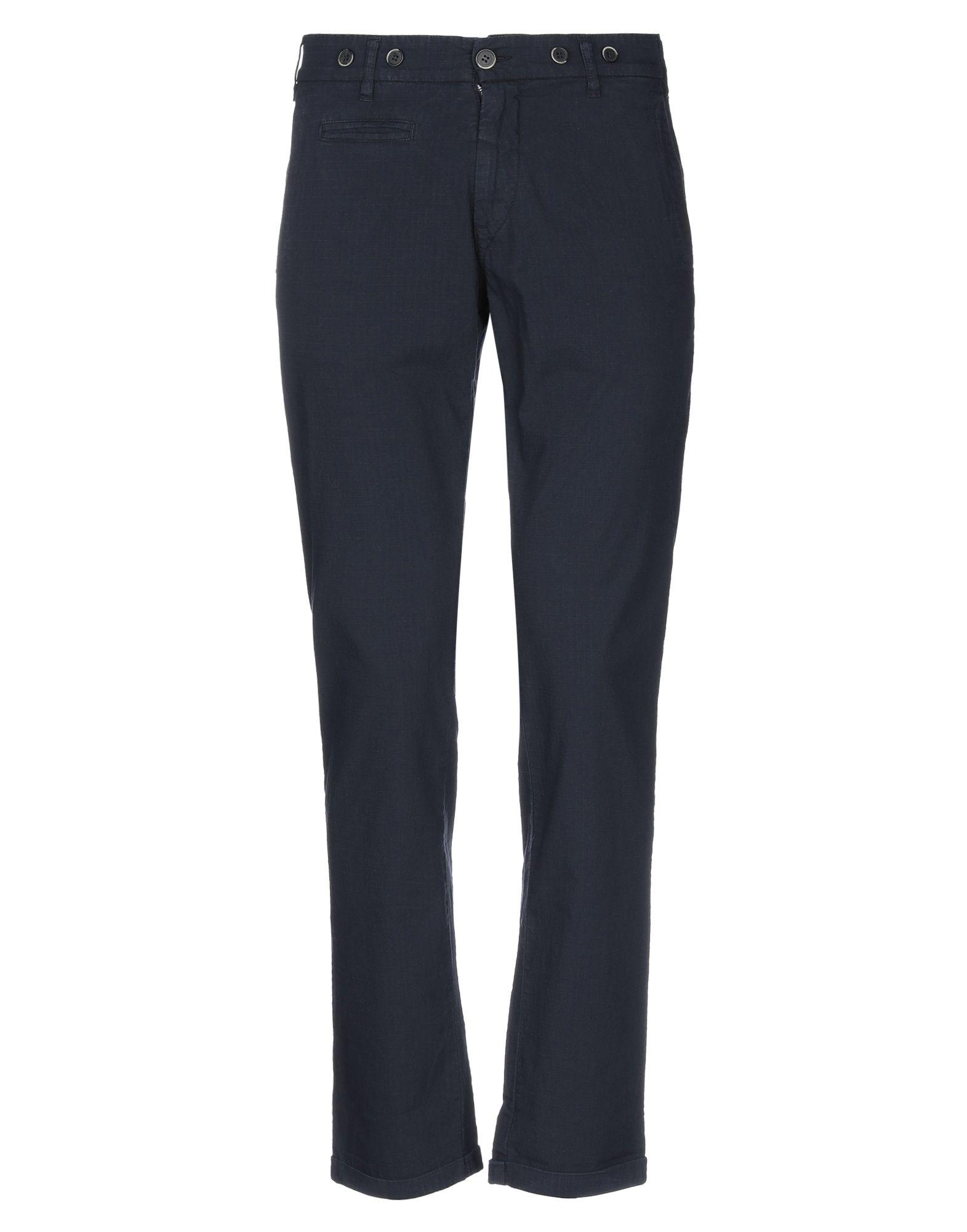 《セール開催中》BARENA メンズ パンツ ダークブルー 44 コットン 100% / ポリエステル