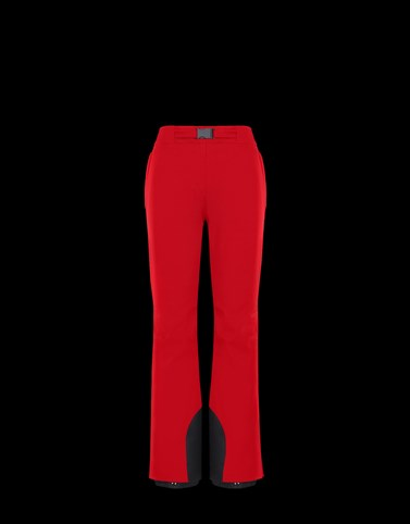 SKI TROUSERS Red Category Ski trousers Woman