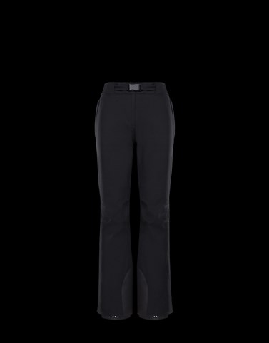 SKI TROUSERS Black Grenoble Ski Suits Woman