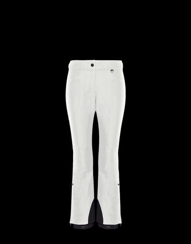 SKI TROUSERS Ivory Category Ski trousers Woman