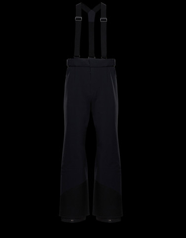 SKI TROUSERS Black Grenoble Special Man