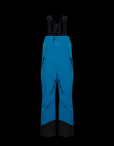 SALOPETTES Azure Category Ski trousers Man